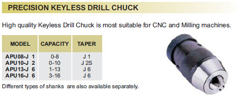 pricision-keyless-drill-chuck
